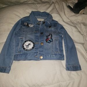 Jean jacket from wee monsters